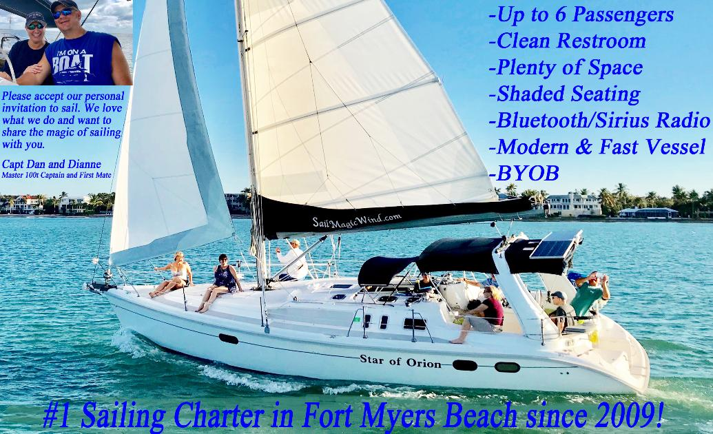 Fort Myers Beach Sailing Ft Myers Beach Sailing Charters